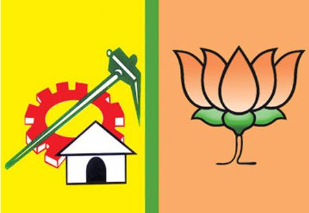 TDP hurry for alliance with BJP? - Sakshi Post