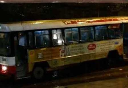 9-yr-old girl dies after falling from RTC bus - Sakshi Post
