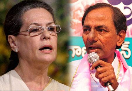 TRS is opportunistic: Sonia - Sakshi Post