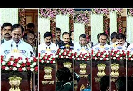 No woman in KCR's cabinet ! - Sakshi Post