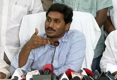 Will not attend Chandrababu's 'pompous'  swearing-in: YS Jagan - Sakshi Post