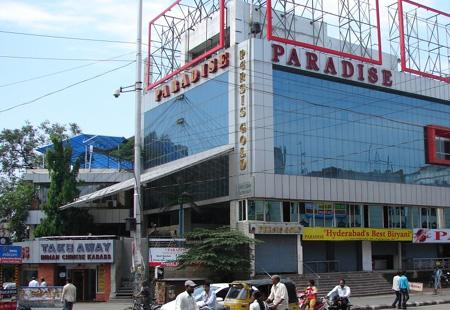 Fire breaks out  in paradise hotel in Hyderabad - Sakshi Post