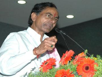 KCR announces Rs.10 lakh for families of 'martyrs' - Sakshi Post