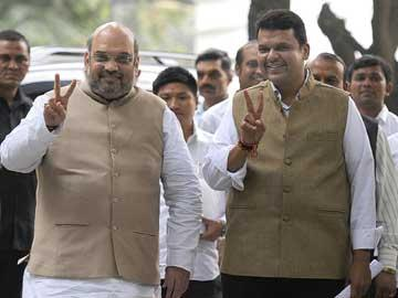 Fadnavis to take oath today; Sena to keep off swearing-in - Sakshi Post