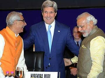 Time to tap incredible possibilities by India, US: Kerry - Sakshi Post