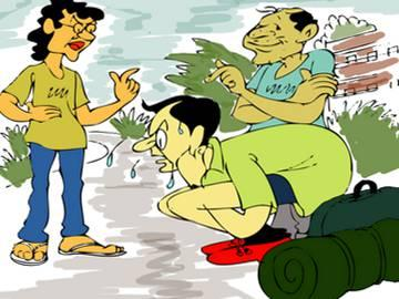 Two engineering students held for ragging junior - Sakshi Post