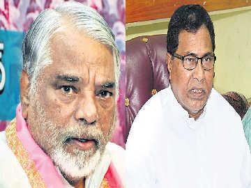 Are TRS, Congress joining hands to make MLC elections unanimous? - Sakshi Post