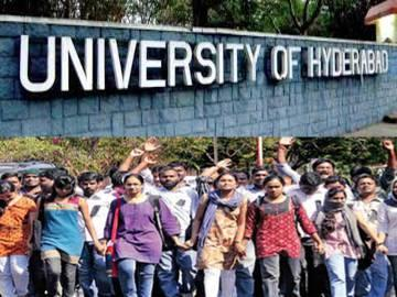 UoH imbroglio: Students want classes to go on - Sakshi Post
