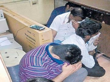 GHMC officials arrested in 'Mujra Party' - Sakshi Post