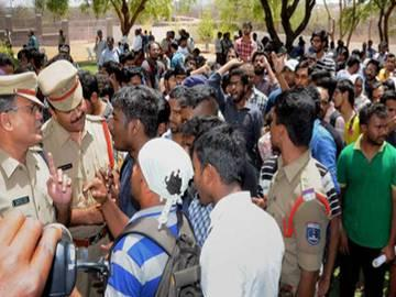 HCU students body calls for nationwide boycott in colleges - Sakshi Post