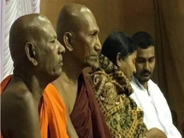 Rohith's brother, mother embrace Buddhism - Sakshi Post