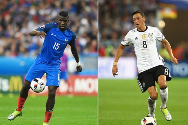 Les Bleus lost to Germany in the 2014 World Cup quarter-finals at Rio de Janeiro - Sakshi Post
