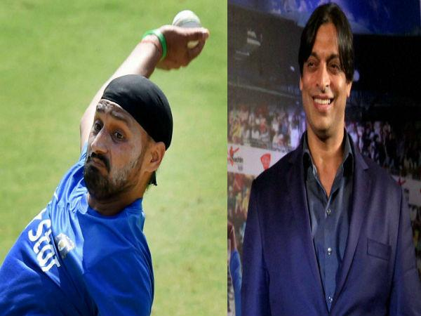 The Rawalpindi Express  teams up with Indian cricketer Harbhajan Singh to entertain people by participating in a TV comedy show 'Indian Mazak League.' - Sakshi Post