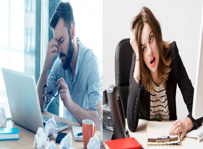 Stressed out people - Sakshi Post