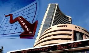 Indicating the worst single-day fall in nearly one month, BSE Sensex plunged by 205 points to 27,710.52 after earnings of HDFC Bank and Kotak Mahindra Bank raised concerns over bad loans. - Sakshi Post