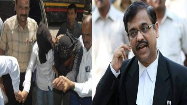 The accused being led away; lawyer Ujjwal Nikam appointed as Public Prosecutor - Sakshi Post