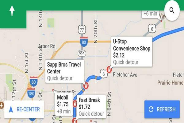 The new Google Maps on IOS now allows users to add multiple stops to a single trip. - Sakshi Post