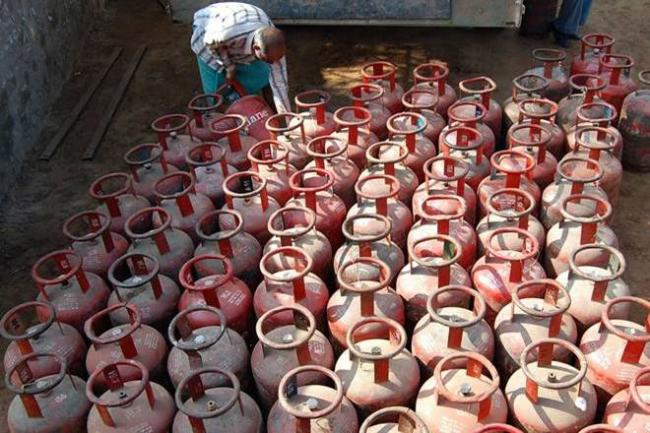 Subsidized cooking gas (liquefied petroleum gas or LPG) price has been hiked for the second time in a span of one month. - Sakshi Post