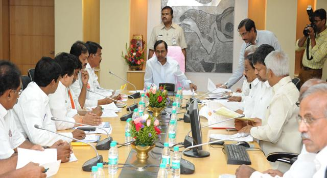 KCR has decided to call for all-party meeting once or twice before draft notification on August 22. - Sakshi Post