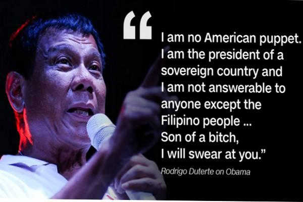 The Philippines gets into damage control operation as it's trying to defuse the latest row with the United States. - Sakshi Post