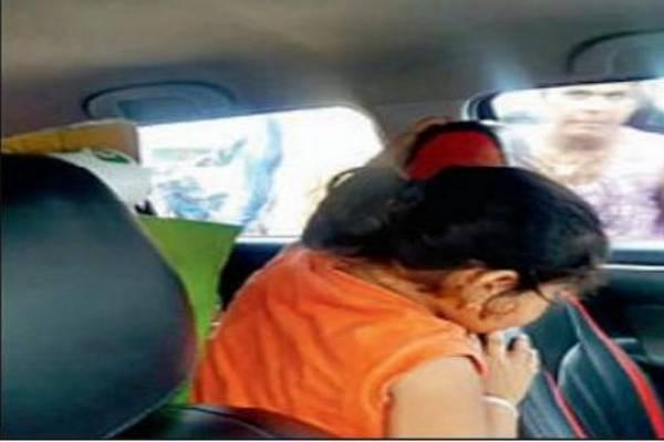 Girl left alone inside a Swift car - Sakshi Post