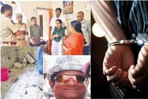 Over 40 goons claimed to be associates of slain gangster Mohammed Nayeemuddin on Sunday attacked a woman advocate Bharatalaxmi. Police arrested main culprits and futher investigation is on. - Sakshi Post