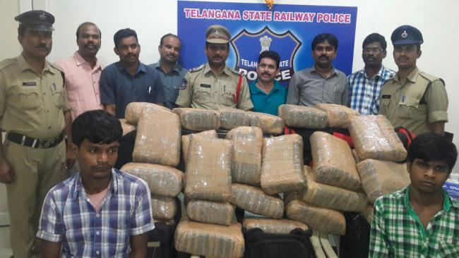 The contraband was packed in bundles like clothes - Sakshi Post