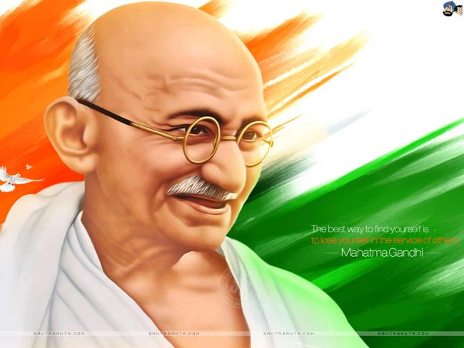 According to a Google Analytics report of website www.mkgandhi.org, majority of online readers or researchers on Mahatma Gandhi belong to India, while the US comes at the second place in terms of page viewing, downloading, e-book reading and download - Sakshi Post