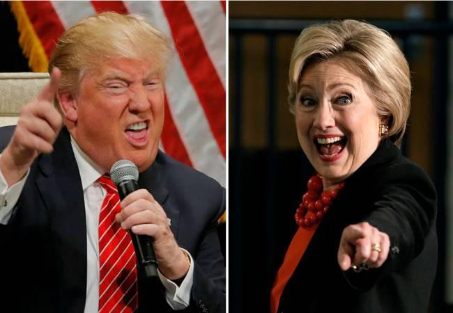 FBI has obtained warrant to search emails as Hillary Clinton's 12-point lead wiping out Donald Trump. - Sakshi Post