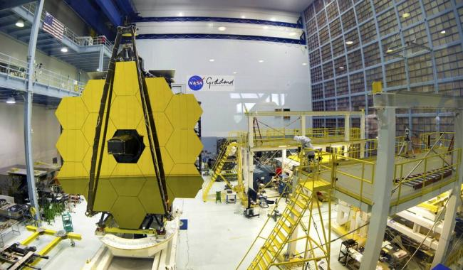 The $8.7 billion project is led by NASA but also supported by the European Space Agency and the Canadian Space Agency. - Sakshi Post