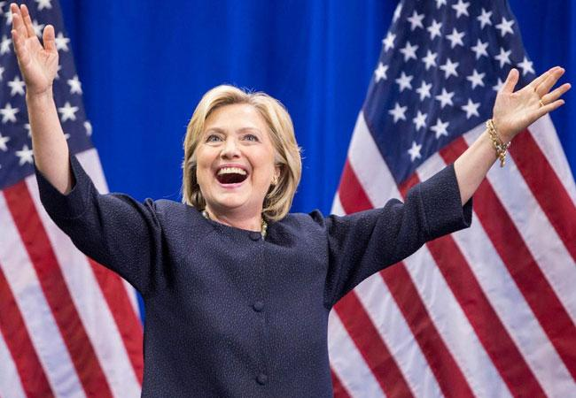 Hillary Clinton, Democratic Presidential Candidate - Sakshi Post