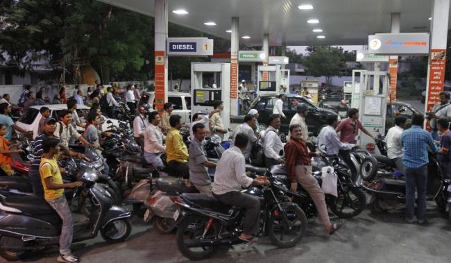 In Telangana alone, over 1,400 truckloads of petrol and diesel were not lifted on Thursday and Friday by petroleum dealers in the State. - Sakshi Post