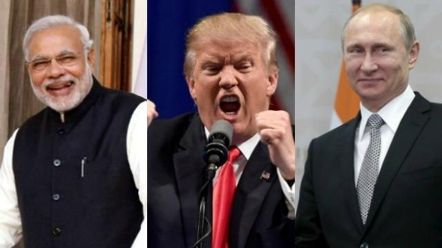 Prime Minister Narendra Modi is leading an online poll for 'Person of the Year' in 2016 honour, which has contenders like US President-elect Donald Trump and Russian President Vladimir Putin. - Sakshi Post