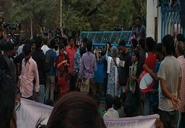 Rohith, a PhD student, committed suicide by hanging himself in a hostel room on the campus last year - Sakshi Post