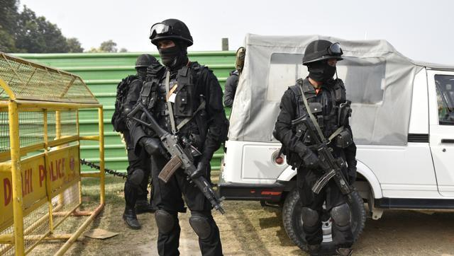 Commando units from various agencies will provide security cover during the Republic Day parade. - Sakshi Post