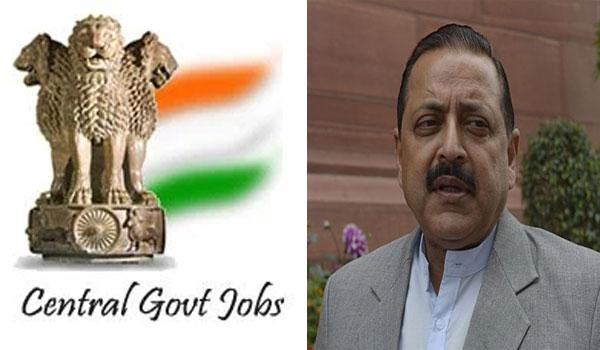 Nearly 2.83 lakh central government jobs are estimated to be generated by next year. - Sakshi Post