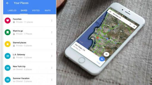 Users can create lists of places, share lists with others and follow the lists of friends and family without leaving Google Maps on both Android or iOS platform. - Sakshi Post