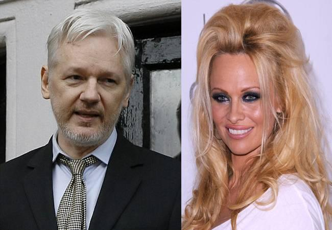 Julian Assange opens about his rumoured romance with actress Pamela Anderson - Sakshi Post