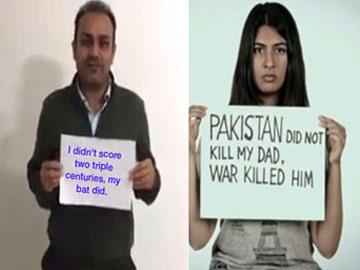 Gurmehar's post and Sehwag's reply - Sakshi Post