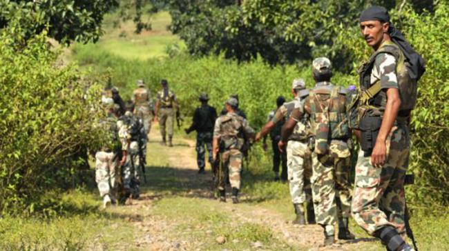 112 personnel belonging to CRPF's 219th battalion were part of the patrol party. - Sakshi Post