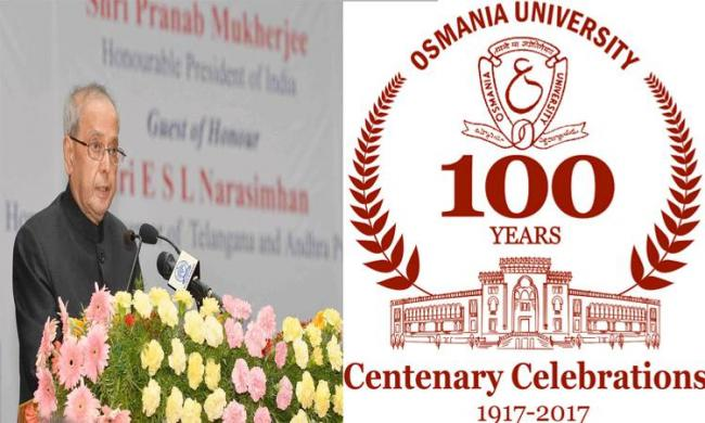 OU isall set to host its three-day centenary celebrations from April 26 to 28 - Sakshi Post