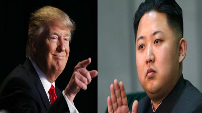 """President Donald Trump called North Korean leader Kim Jong-Un a """"madman with nuclear weapons"""" during a telephone call with Philippine President Rodrigo Duterte - Sakshi Post"""