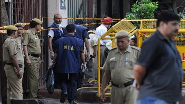 NIA teams carried out raids at over 14 places in Srinagar and at eight places in the national capital - Sakshi Post