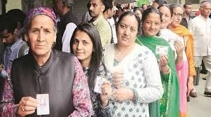 An image from the day of the polling - Sakshi Post