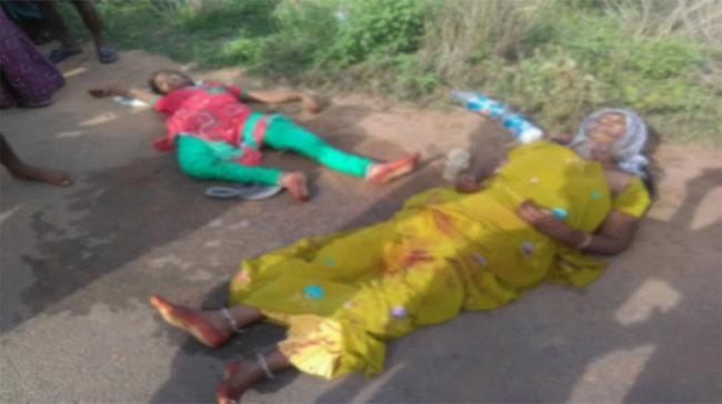 Ankamma(47) died on the spot, while her niece Sivaleela(15) succumbed to injuries - Sakshi Post