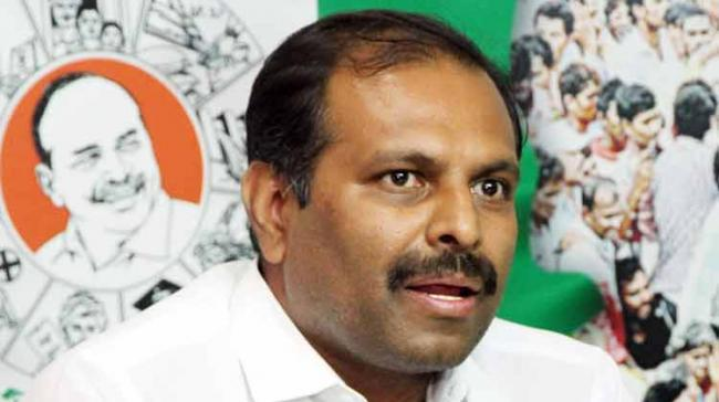 YSR Congress Party senior leader and MLA Gadikota Srikanth Reddy strongly condemned the attack on his party leader Silpa Chakrapani Reddy in Nandyal town in broad daylight.  - Sakshi Post