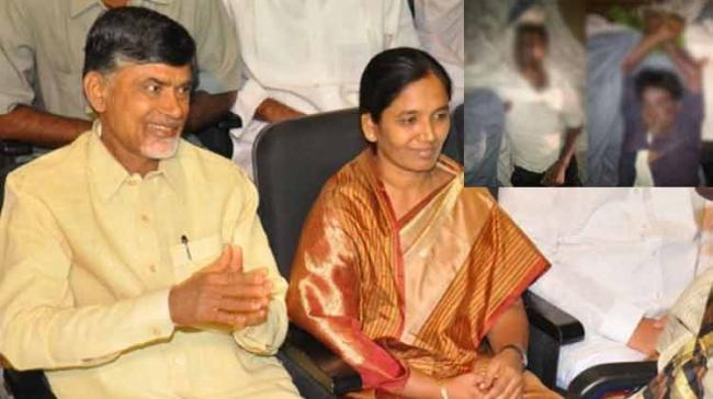 In a tragic road accident, two members of Andhra Pradesh Minister Paritala Sunitha's kin have been killed when the vehicle they were travelling in overturned at Peddaipalli near Balanagar, here on Friday morning. (Representational image)&nb - Sakshi Post
