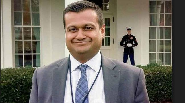 Raj Shah's parents, who were native of Gujarat, had migrated to the US in 1980s. - Sakshi Post