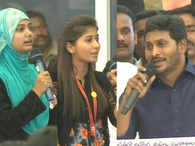 Opposition Leader and President of YSR Congress Party YS Jagan Mohan Reddy addresses a mammoth gathering of youth at Yuva Bheri in Anantapur on Tuesday - Sakshi Post