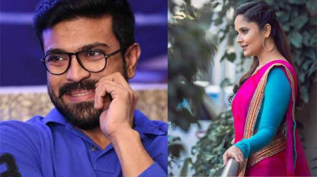 Anasuya Bharadwaj is very excited about being a part of Ram Charan's upcoming film Rangasthalam 1985 directed by Sukumar. The film, we hear is garnering a lot of attention in filmnagar circles because of the story and village backdrop. - Sakshi Post